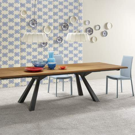 Zeus ALL Extendable Dining Table, Midj Italy