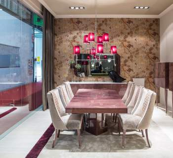 Madison Rectangular Extension Dining Table, Planum Furniture Italy