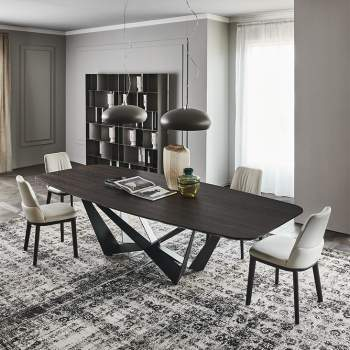 Skorpio Wood Dining Table, Cattelan Italia