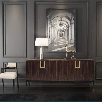 Portobello Sideboard on Legs, Planum Furniture Italy