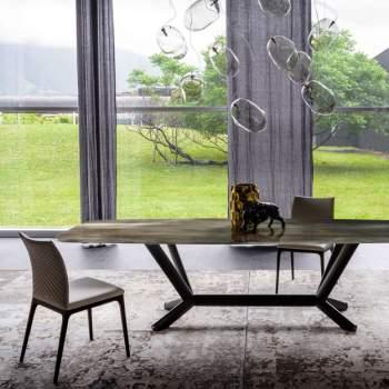 Planer Crystalart Dining Table, Cattelan Italia