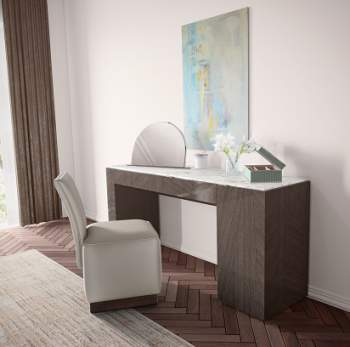 Madison Vanity Desk, Planum Furniture Italy