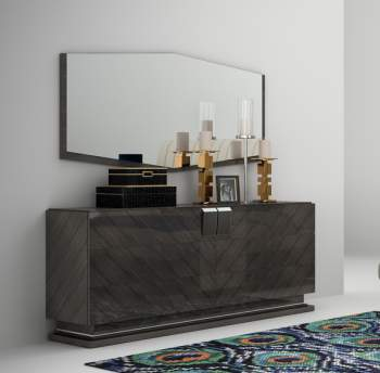 Plaza Double Dresser, Planum Furniture Italy