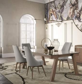 Riviera Rectangular Extension Dining Table, Planum Furniture Italy