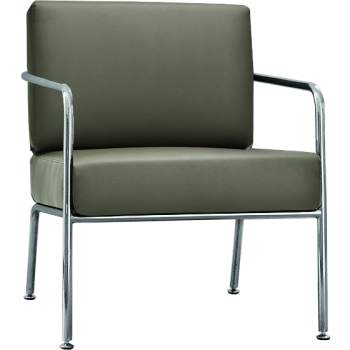 Billy 1 Lounge Chair With Arms, Midj Italy