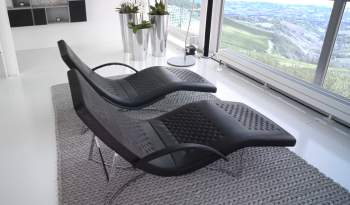 Chandelier Lounger Chair, Cierre Italy