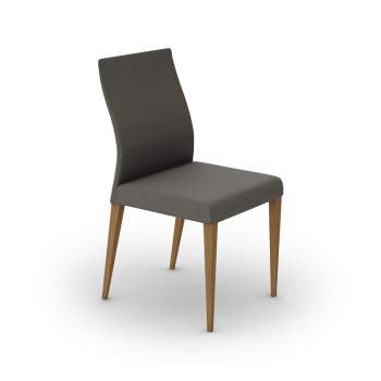 Dali Dining Chair With Low Backrest, Mobican