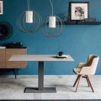 Elvis Fixed Dining Table, Cattelan Italia