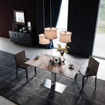 Elvis Keramik Dining Table, Cattelan Italia