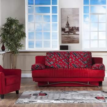Fantasy Story Red Sofa-Sleeper
