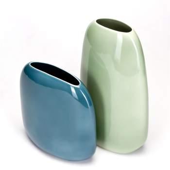 7140-B Flavour Ceramic Vase, Calligaris Italy
