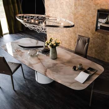 Giano Keramik Dining Table, Cattelan Italia
