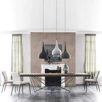 Gordon Deep Wood Dining Table, Cattelan Italia