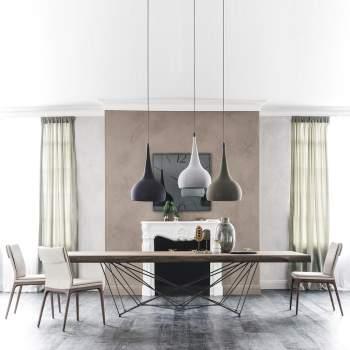 Gordon Deep Wood Dining Table, Cattelan Italia