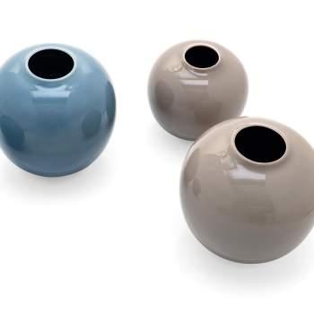 7119-B Holly Ceramic Vase, Calligaris Italy