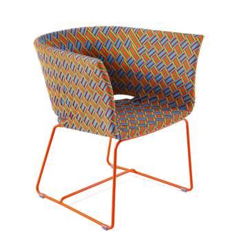 Kente Lounge Chair, Varaschin Italy
