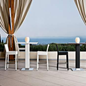 Lotus Bar Stool, Varaschin Italy