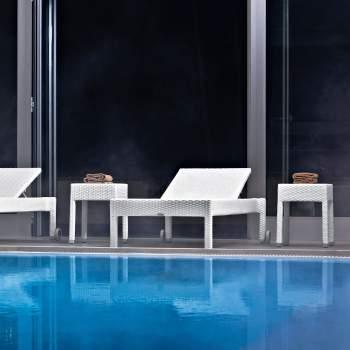 Lotus Side Table, Varaschin Italy