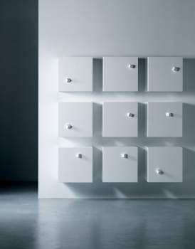 Dado Wall Unit by Miniforms, Italy