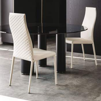Norma Couture Dining Chair, Cattelan Italia