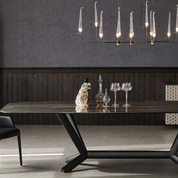 Planer Keramik Dining Table, Cattelan Italia
