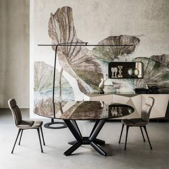 Planer Round Dining Table, Cattelan Italia