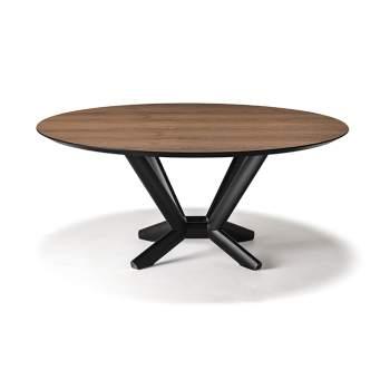 Planer Round Wood Dining Table, Cattelan Italia