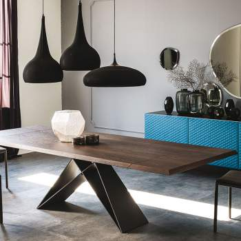 Premier Wood Drive Dining Table, Cattelan Italia