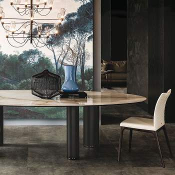 Roll Keramik Dining Table, Cattelan Italia