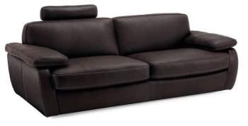 Incanto B602 Leather Sofa with headrest