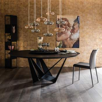 Skorpio Round Dining Table, Cattelan Italia