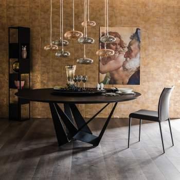 Skorpio Round Dining Table, Cattelan Italia