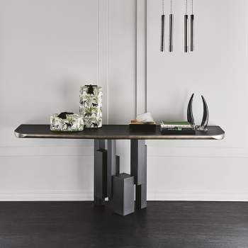 Skyline Wood-C Console Table, Cattelan Italia