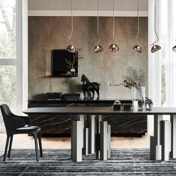 Skyline Wood Dining Table, Cattelan Italia