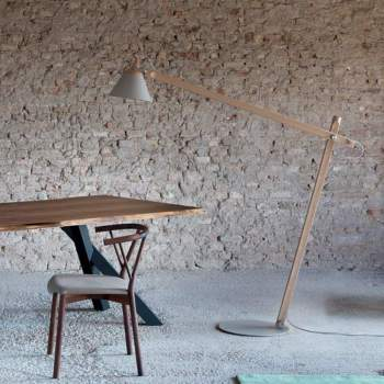 Slope Floor Lamp, Miniforms Italy