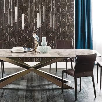 Spyder Keramik Dining Table, Cattelan Italia