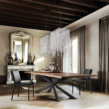 Spyder Wood Dining Table, Cattelan Italia