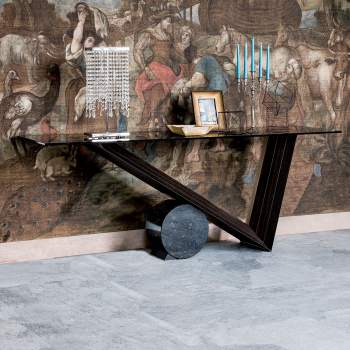Valentino Console Table, Cattelan Italia